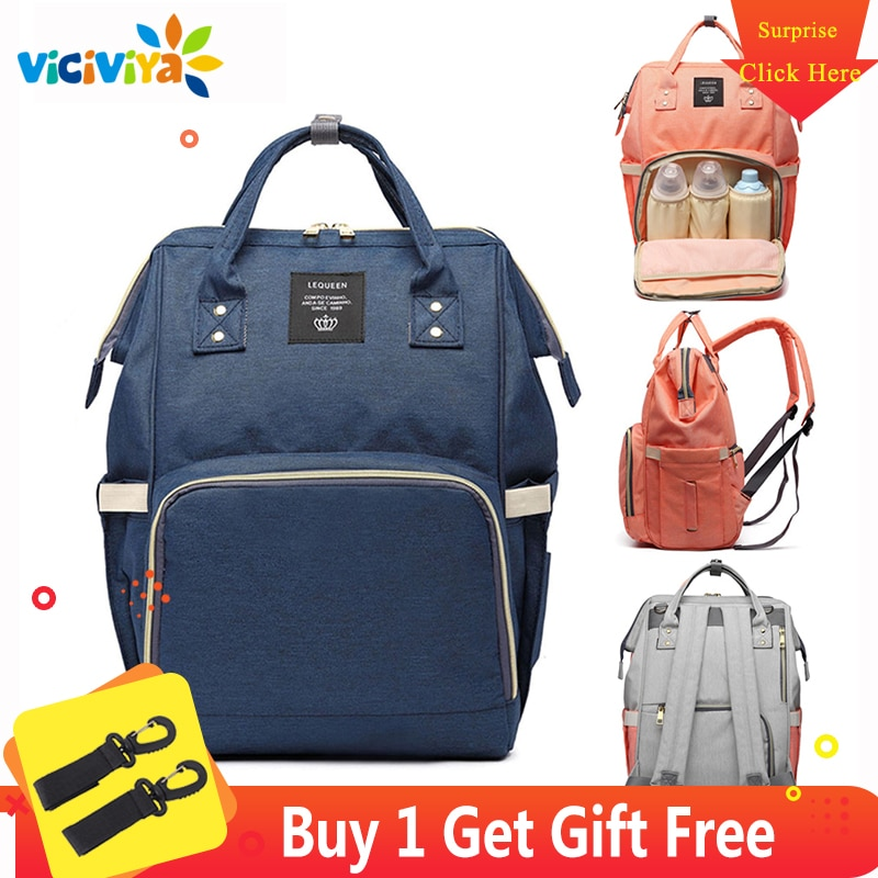 Baby Diaper Bag Fashion Mummy Maternity Nappy Bag Large Capacity Baby Bag Bolsa Maternidade Designer Nursing a Bag For Mother