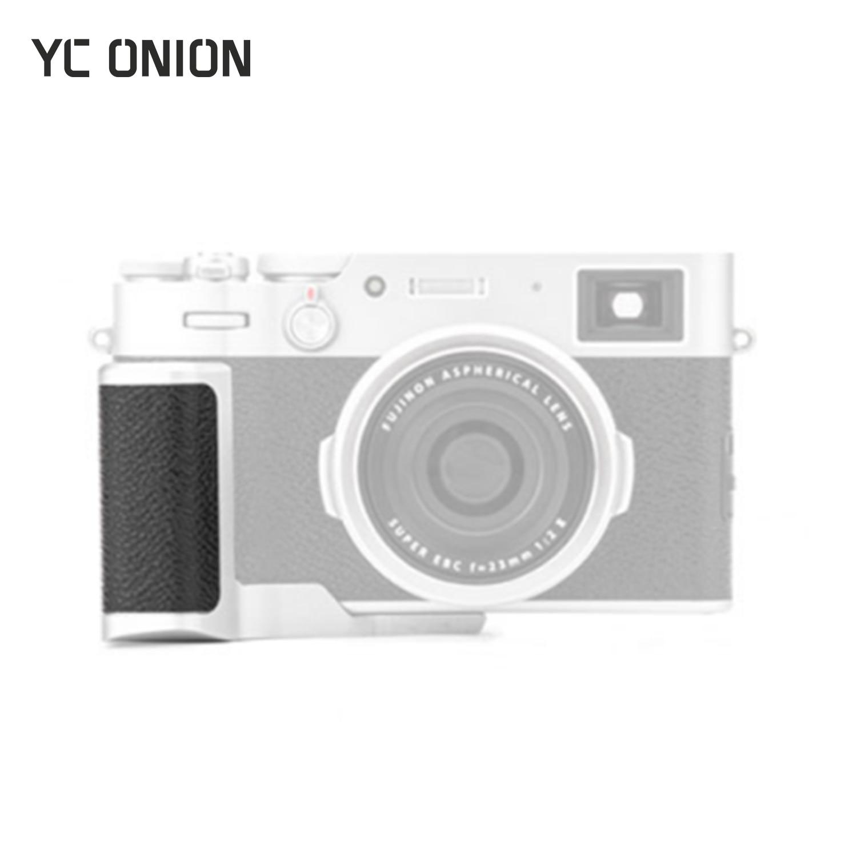 YC Onion Camera Quick Release L Plate Holder Hand Grip For Fujifilm X100V L Bracket Rabbit Cage Kit