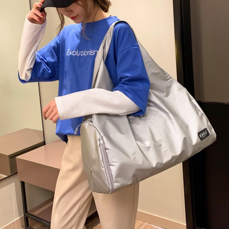 Dry and Wet Separation Swimming Bag Portable High Capacity Yoga Gym Bag Travel Shoulder Women Bolsa Deporte Sport Bags BN50SB