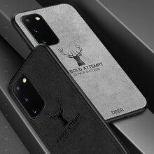 Sweatproof tuch telefon fall auf für Samsung Galaxy S20 Ultra S10 Plus S10e S 20 10 10e s20plus s20ultra weichen tpu abdeckung zurück coque