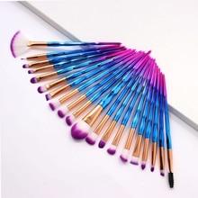 20Pcs Del Diamante di Trucco Pennelli Set Polvere Prodotti Di Base Blush, Fard Blending Eye shadow Lip Cosmetic Beauty Make Up Brush