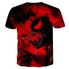 Avengers Venom 3D printed T-shirt men 2020 summer new AliExpress wish foreign trade explosion short-sleeved