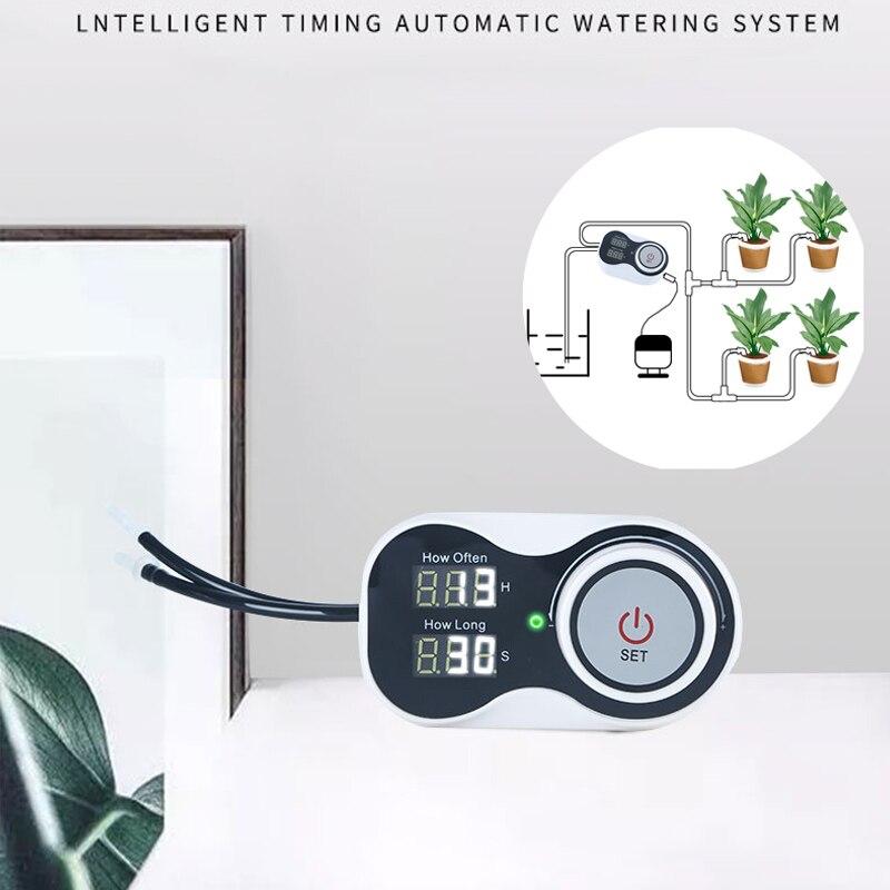 2021 جديد الذكية نظام بالتنقيط التلقائي الموقت جهاز الري حديقة وحدة تحكم في مضخة الماء لزهرة النبات بوعاء