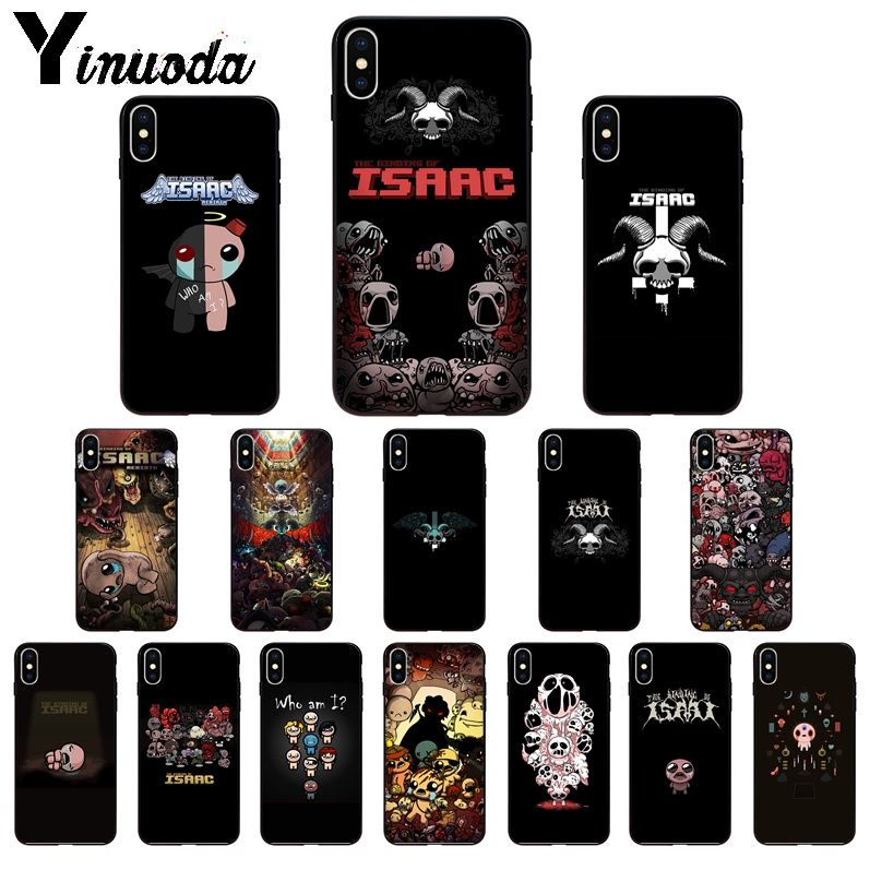 Yinuoda The Binding Of Isaac TPU Soft Silicone Phone Case Cover for iPhone 11 pro XS MAX 8 7 6 6S Plus X 5 5S SE XR SE2020 case