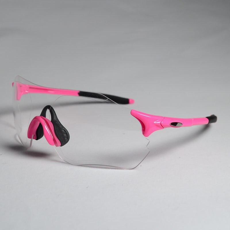 2017 Hot  Clear Photochromic Cycling Glasses Men Women Sports MTB Mountain Road Bike Bicycle Cycling Sunglasses Eyewear
