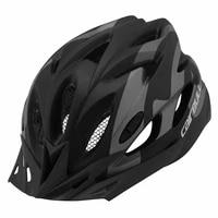ultralight cycling safely helmet removable sun visor and rear light mountain road bike helmet men women mtb bicycle helmet fungo