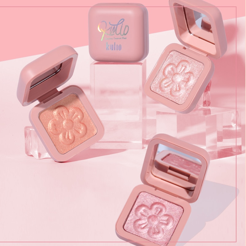 Brilliant Color Highlighter Powder Palette Shimmer Shiny Facial Makeup Blusher Face Bronzer Brighten Skin Make Up Highlighters