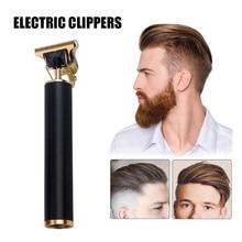 Aluminum Alloy Electric Hair Clipper USB Rechargeable Shaver Beard Trimmer Men Hair Cutting Machine