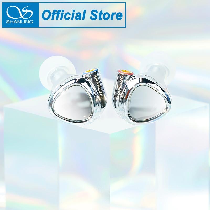 شانلينغ ME500 تألق سماعة 2BA + 1DD الهجين سائق في الأذن سماعة IEM سماعات مع 3.5 مللي متر 4.4 مللي متر MMCX انفصال كابل