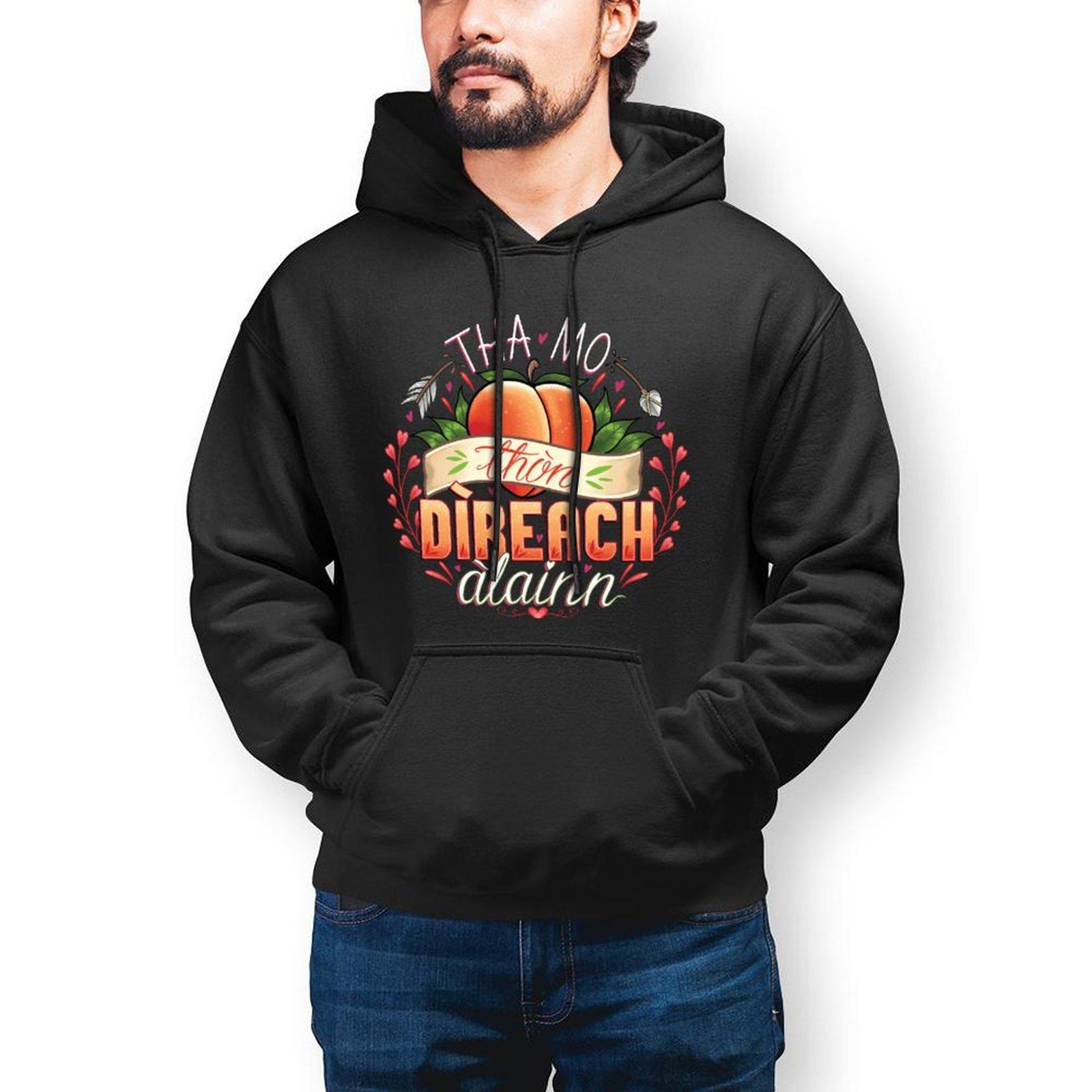 Персиковая толстовка стильные длинные хлопковые толстовки мужские зимние уличные пуловеры толстовки XXL