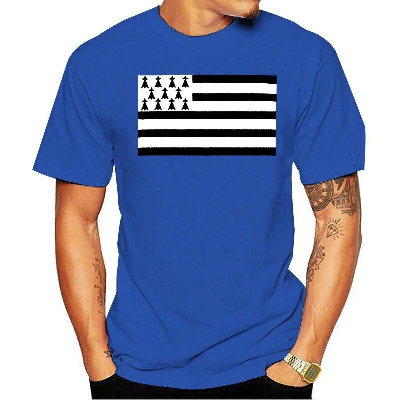 Brittany Scribble Flag Mens T-Shirt Tee Top Giftfootball Shirt Gift Funny Tee Shirt