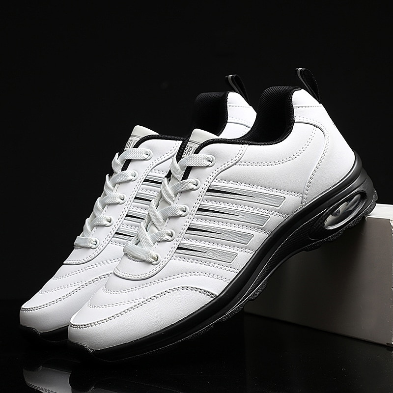 2020 Men Waterproof Golf Shoes Black White Sport Trainers for Golf Spikeless Sneakers Anti Slip Walking Shoes for Mens 2020 men waterproof golf shoes black white sport trainers for golf spikeless sneakers anti slip walking shoes for mens