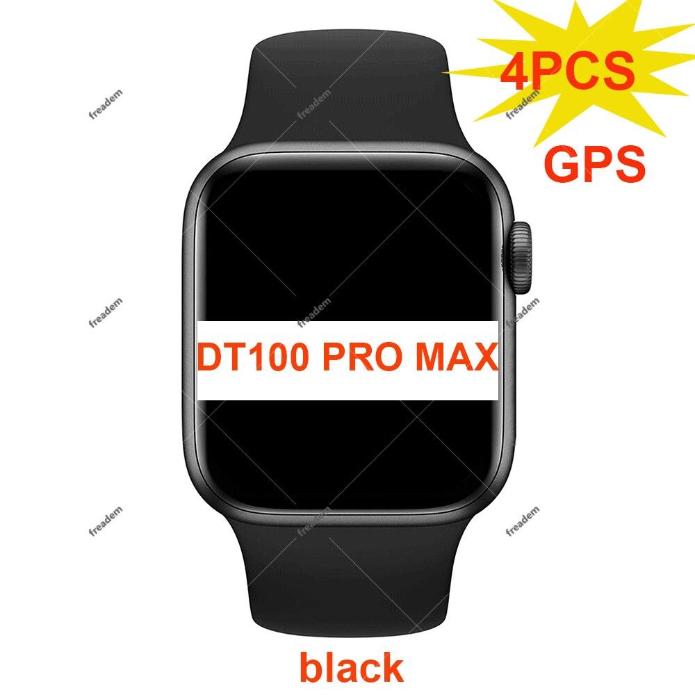 4 قطعة DT100 برو ماكس ساعة ذكية