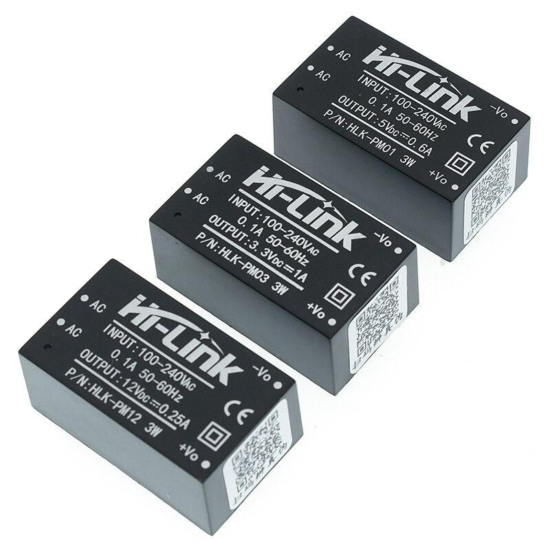 1PCS HLK-5M03 HLK-5M05 HLK-5M12 5W AC-DC 220V zu 12V/5V/3,3 V Buck step Down Power Supply Module Converter Intelligente