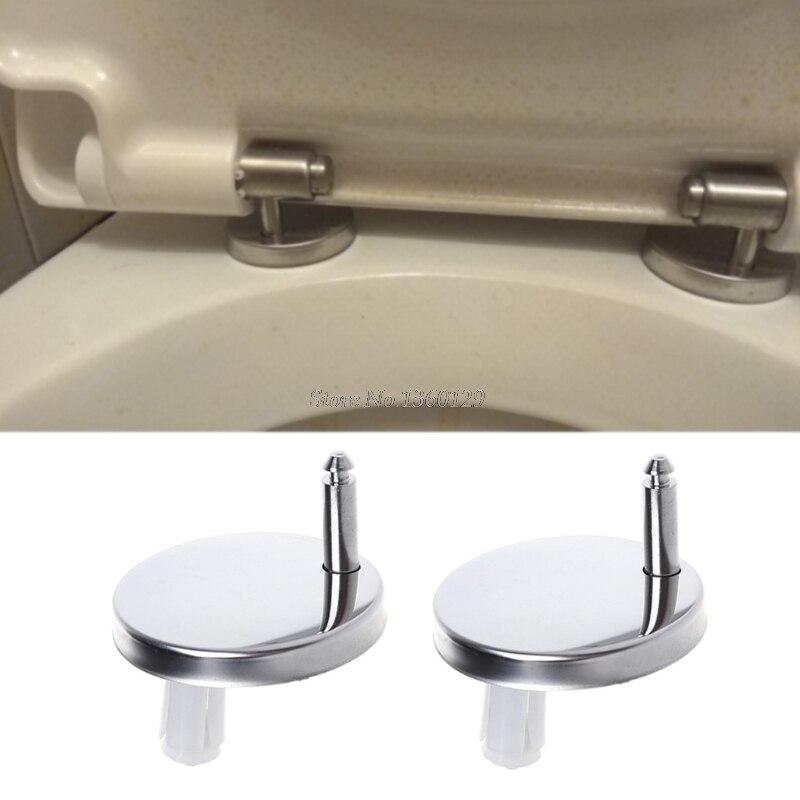 2 pièces Top Fix WC siège de toilette charnières raccords vis à charnière à dégagement rapide vente en gros et livraison directe