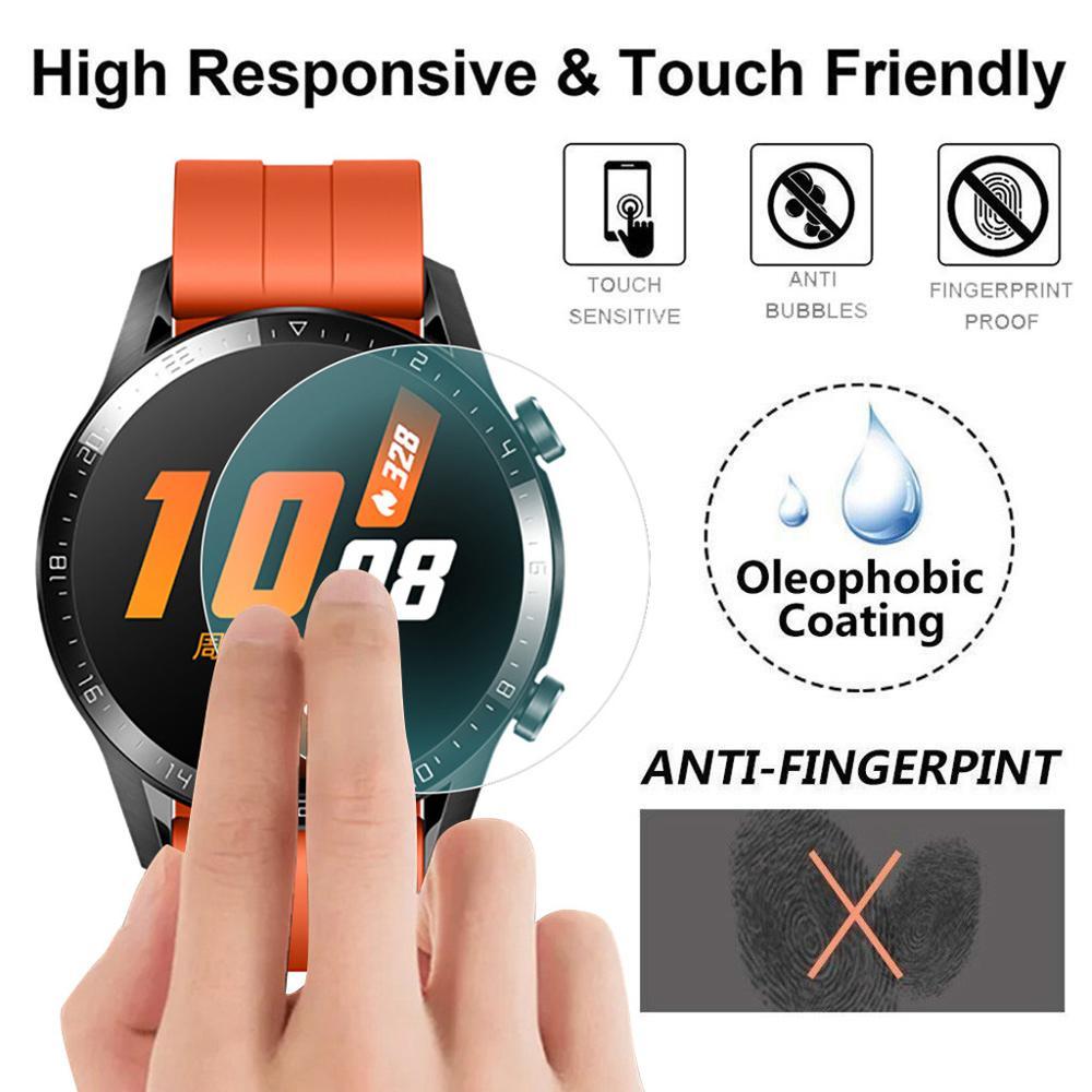 3/5PC Explosion-proof TPU Voll Abdeckung Screen Protector Film Für Huawei Uhr GT2 42mm 46mm Smart uhr Armband zubehör GT 2 #921