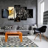 5 affiches de mode de chambre a coucher europeennes et americaines modernes  decoration de la maison  salon  peinture dart imprimee sans cadre