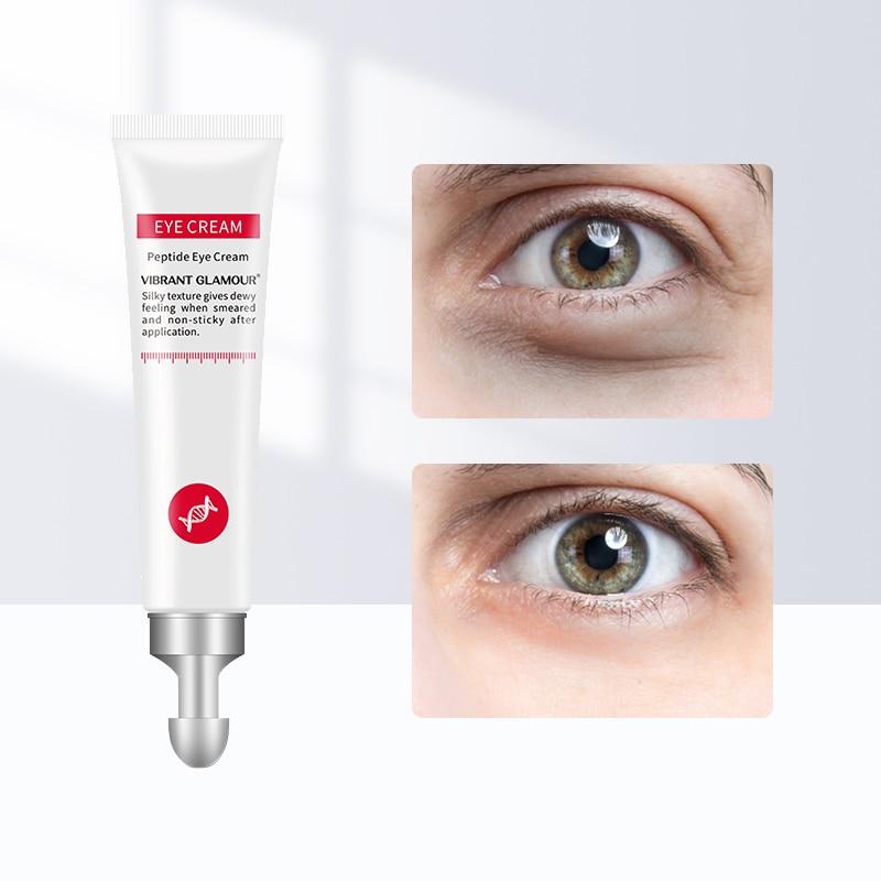 Eye Cream Peptide Collagen Serum Anti-Wrinkle Anti-Aging Remove Dark Circles Moisturizing Eye Care Against Puffiness And Bags недорого