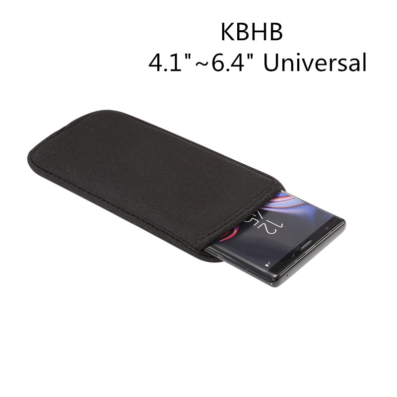 "Universal Neoprene Bag Sleeve Case For Google Pixel 2 3 3a XL XL 2XL 3XL XL3 3aXL 4 4XL Phone Cover bags 4.1""~6.4"" inch"