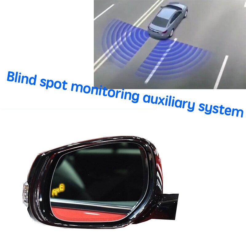 نظام BSD BSM BSA للسيارة مزود بمرآة لتحديد المناطق العمياء نظام اكتشاف الرادار الخلفي للسيارة إنفينيتي Q50 Q50L V37 2013 ~ 2020