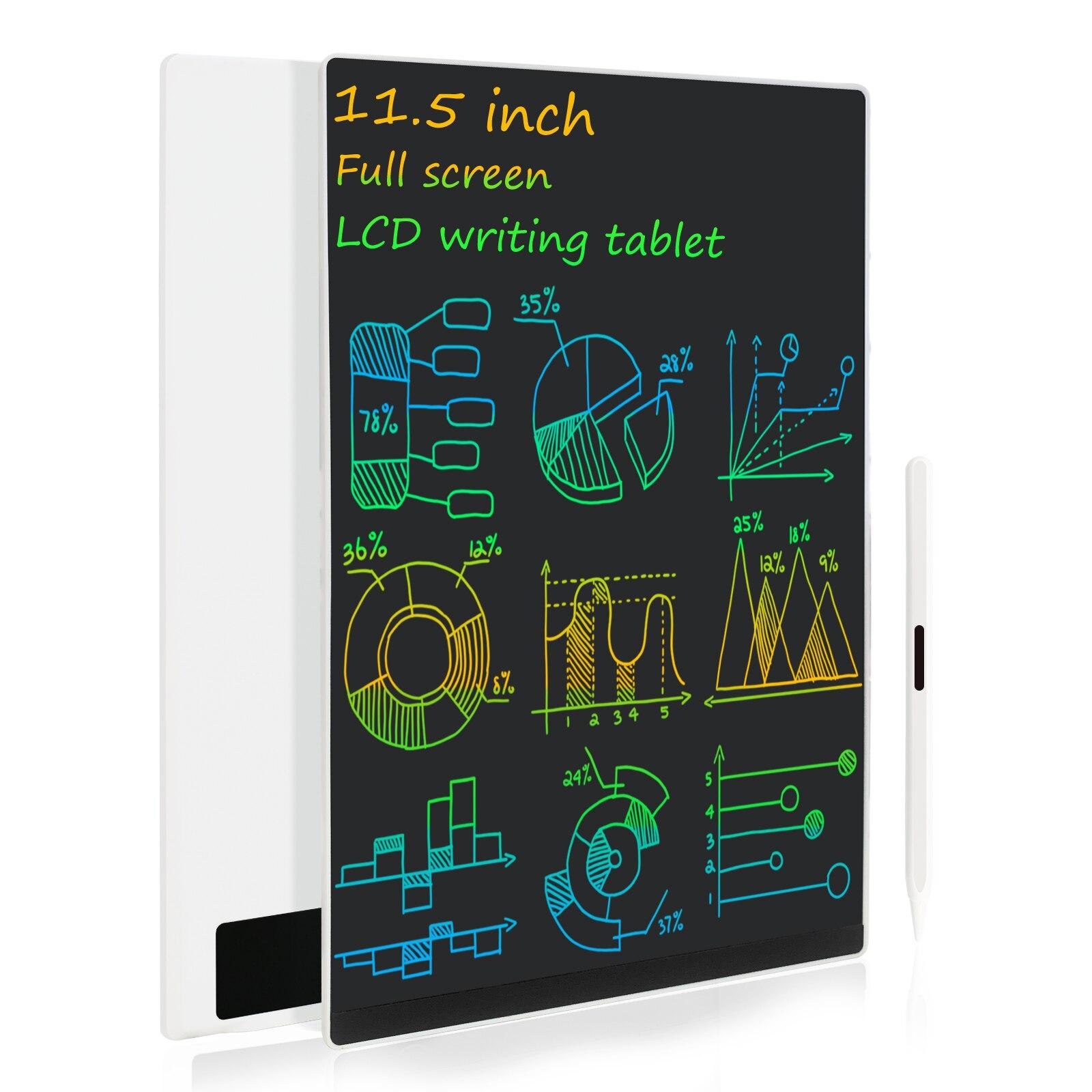 11.5 بوصة كمبيوتر لوحي LCD بشاشة للكتابة سوبر رقيقة كامل الشاشة الإلكترونية رسم خربش مجلس التعليمية و لعب للتعلم للبنين والبنات