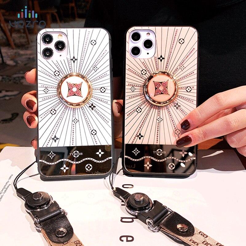 2020 para iPhone SE 7 6s 8 Plus X XR XS cubierta para Apple 11 Pro Max funda 3D de lujo de la marca mundial de moda Shell accesorios estéticos
