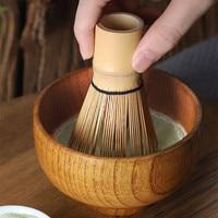 Японский Стиль матча набор кистей из бамбука Материал Matcha венчик для пудры держатель Зелёный чай Chasen кисти инструменты и чайные наборы цзял...