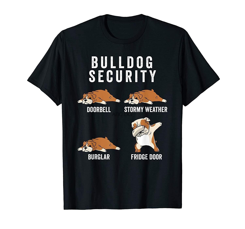 Camiseta de seguridad de Bulldog English regalo divertido para perro