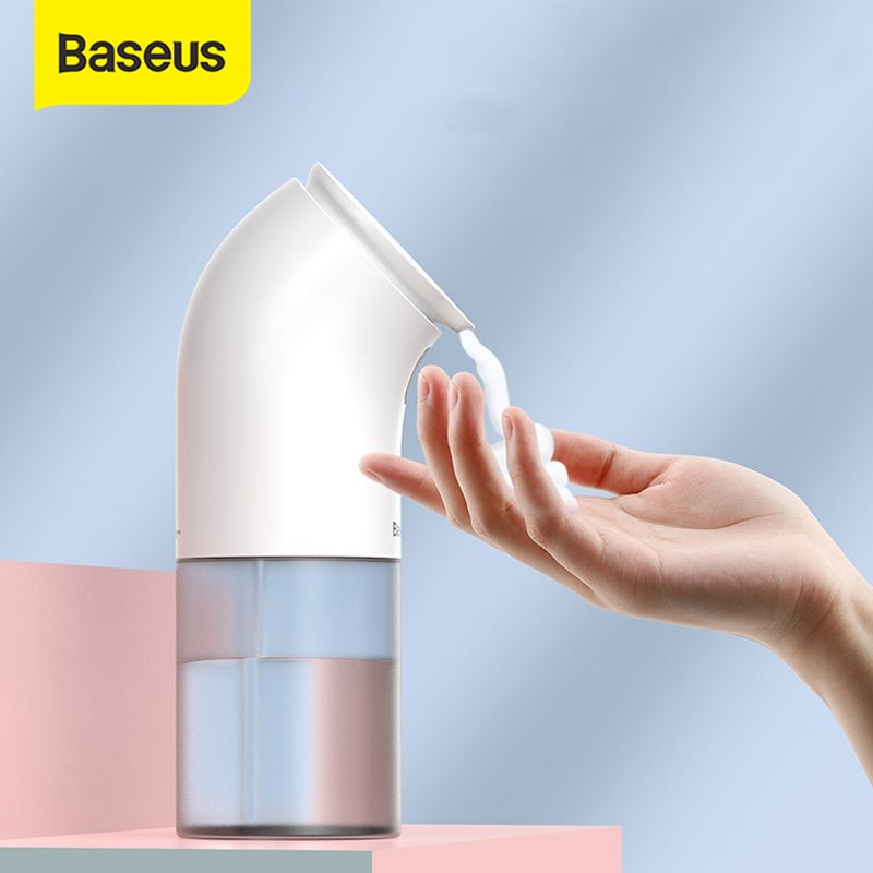 Baseus Intelligent Automatic Liquid Soap Dispenser Induction Foaming Hand Washing Device For Kitchen