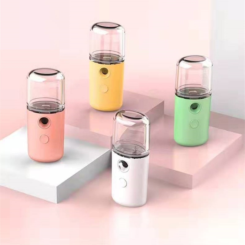 Mini 30ml Nano  Portable Face Spray  Facial Body Nebulizer Steamer Moisturizing Skin Care Humidifier Instruments недорого