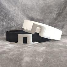 2021 new fashion golf Belt j-lindeberg leather simple men golf belt