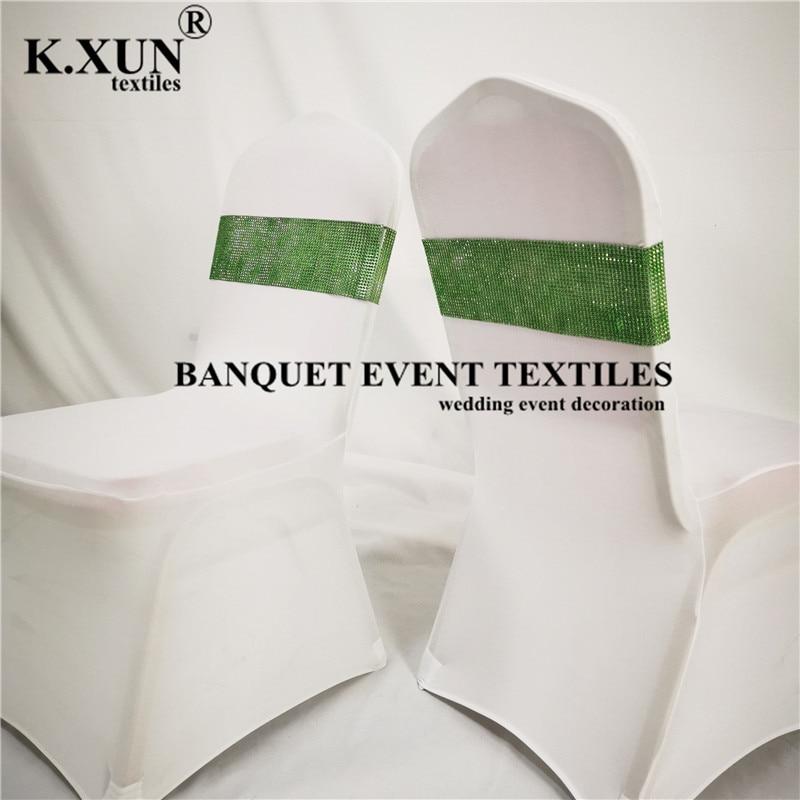 30 قطعة شريط كرسي الترتر غطاء كرسي مأدبة وشاح للزينة حفل زفاف الحدث