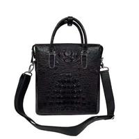 fanzunxing new arrilva men handbag men crocodile leather men bag men briefcase business for offtce