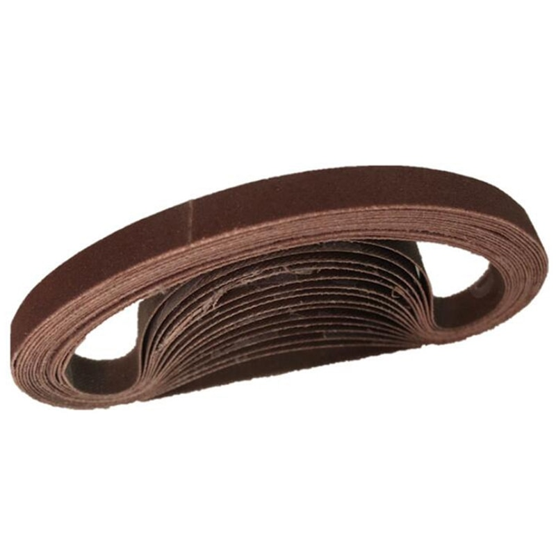 50PCS 330X10mm (80 Grit )Abrasive Sanding Belts Sander Grinding Polishing Tools