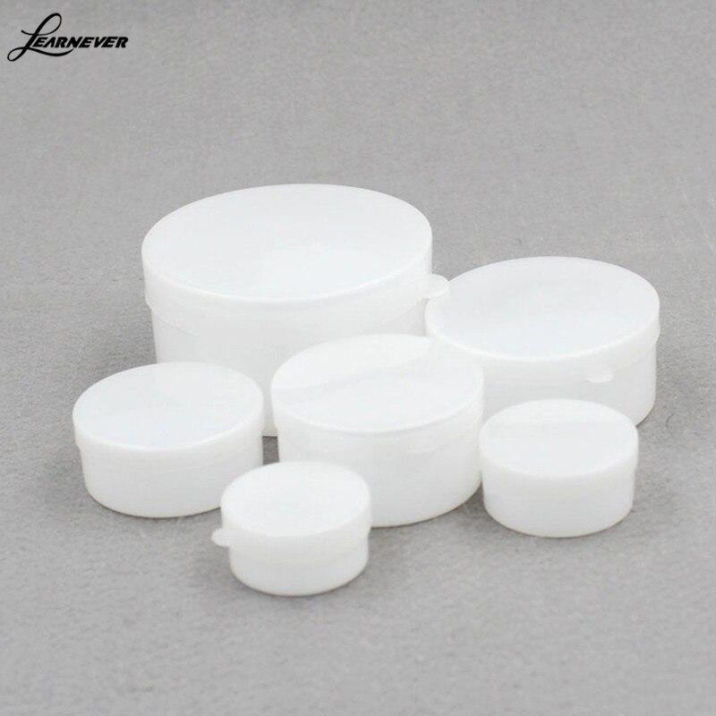 Frasco de plástico vacío para cosméticos, recipiente de plástico rellenable, de gran calidad, 1 polvo para Pc