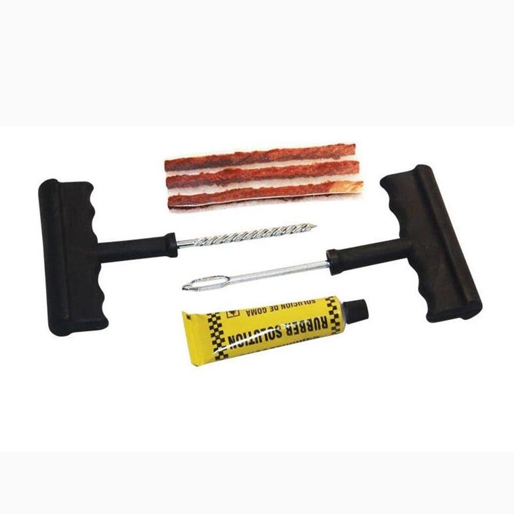 6 шт., набор инструментов для ремонта автомобиля, бескамерный комплект для ремонта шин для автомобильного велосипеда, прокол, вилка, ручные и...