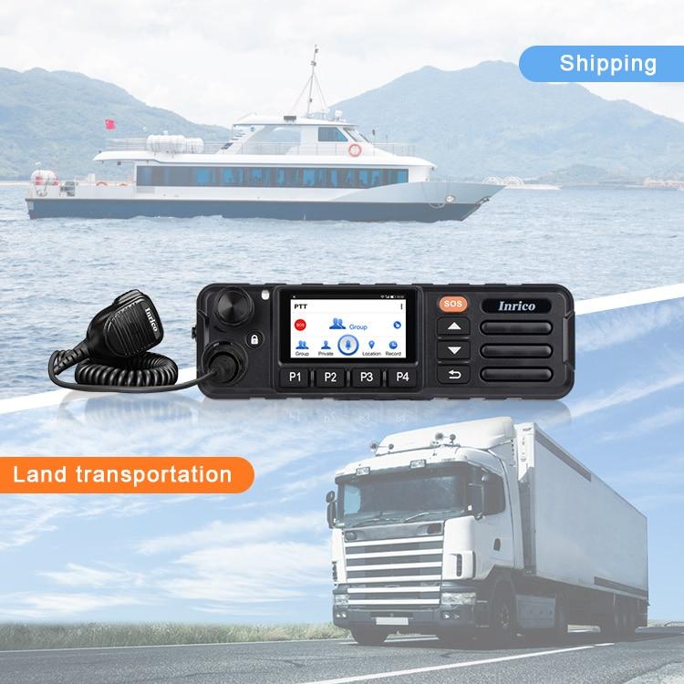 Camoro Best Walkie Talkie 2020 Bluetooth GPS 4G Repeater Car Radio Long Range Walkie Talkies FM Transmitter Walky Talky enlarge