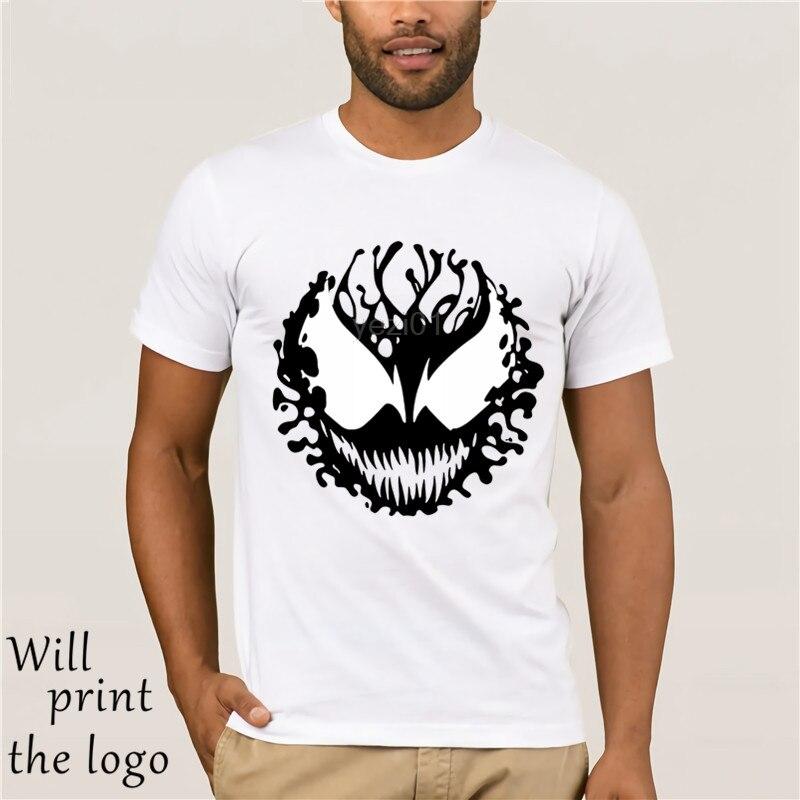 Flevans Fresco algodón di bienes di Modo Degli Uomini camiseta Spiderman carnicería Stampa T camisa hombres Marchio di Abbigliamento