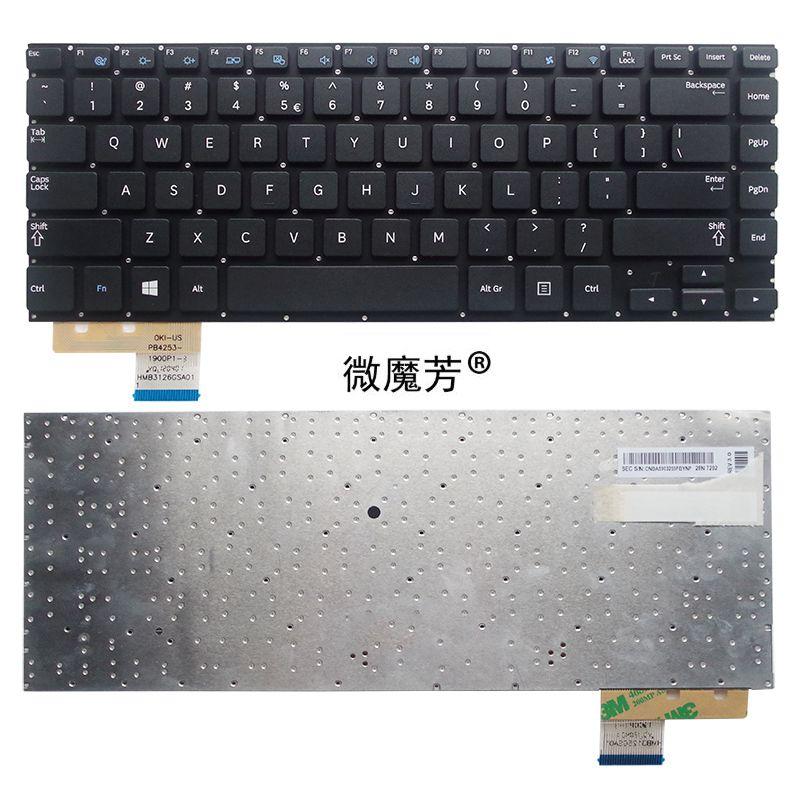 الإنجليزية لسامسونج NP530U4B NP530U4C NP535U4C NP530U4BI 530U4 NP530U4 530U4B 530U4C 530U4BI 535U4C 535U4B الولايات laptop keyboard