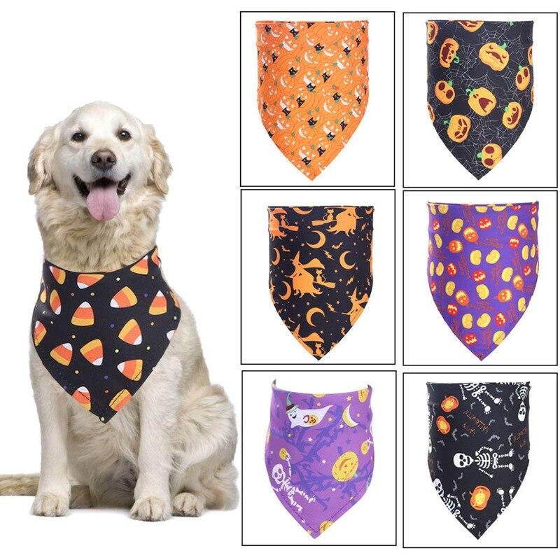 ¡Novedad de 2020! Pañoleta para mascotas, Baberos de moda, toalla para Saliva de mascotas, Halloween con disfraz para cachorros, sombreros de decoración para perros pequeños, toalla impermeable