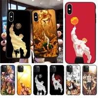escanor seven deadly sins phone case for iphone 12 11 pro max mini xs max 8 7 6 6s plus x 5s se 2020 xr cover