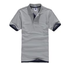 T-Shirts classiques hommes été décontracté solide à manches courtes t-shirt mâle respirant coton maillots Golf Tennis Camisa hauts t-shirt hommes