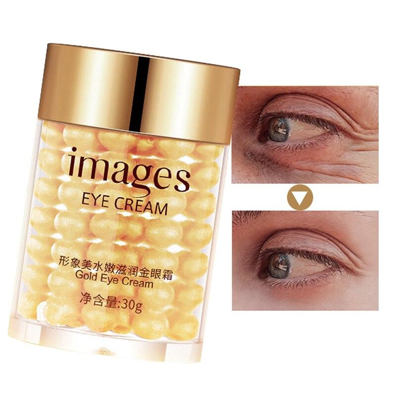 Gold Eye Cream Remove Anti Wrinkles Collagen Hydra Moisturizing Eye Gel Remove Eye Bag Anti Puffines