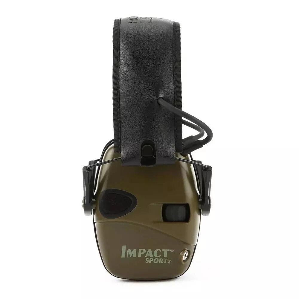 Nuevo 2021 Anti-ruido de impacto Protector oreja electrónica orejera para disparar caza...