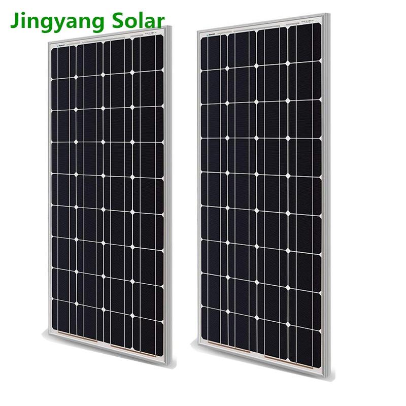 Pé energia painel solar 12v100w fotovoltaica casa sistema de geração de energia solar painel de geração de energia 200w300w400w500w