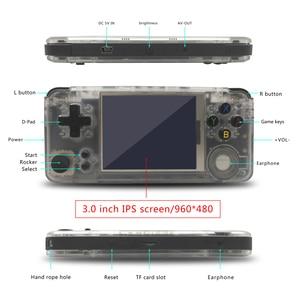 Image 5 - Rs 97 новое программное обеспечение 2,2 Ретро игра плюс годовщина видео игры 3000 игр Omron 16G rs97 семейный подарок consola Ретро ps1 IPS HD