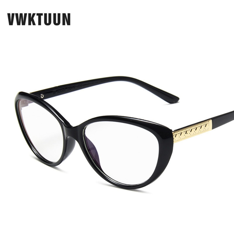 VWKTUUN Katze Brillen Rahmen Candy Farbe brillen Rahmen Für Frauen Männer Brillen Myopie Rahmen Studenten Gefälschte Gläser