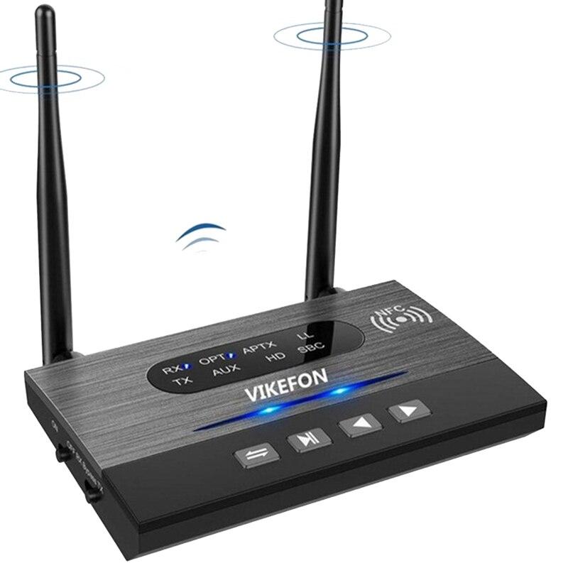 HOT-VIKEFON بلوتوث 5.0 استقبال الموسيقى اللاسلكية o محول ل TV PC AptX HD منخفضة الكمون البصرية RCA 3.5 مللي متر AUX جاك