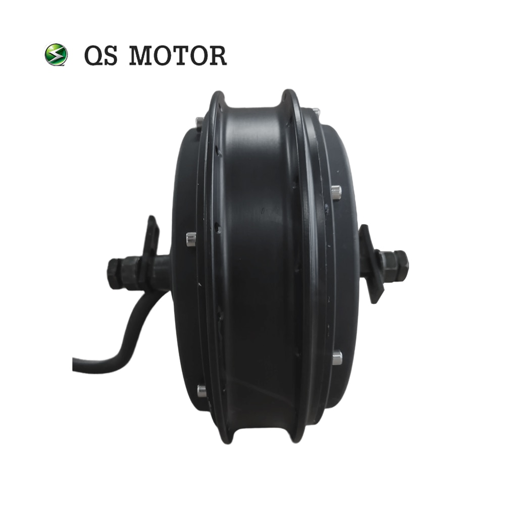 QS Motor 3000W V3 72V 60kph Spoke Hub Motor for Electric Bicycle enlarge
