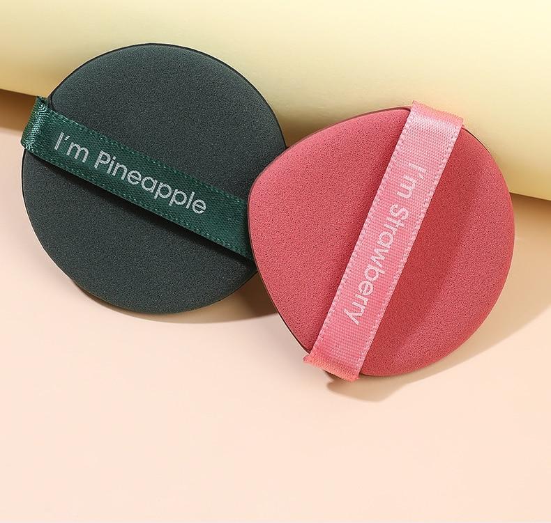 5pcs Smooth Cosmetic Puff Facial Powder Puff Soft Makeup Foundation Sponge Cosmetic Air Cushion Pad